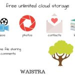 waistra free cloud storage for android